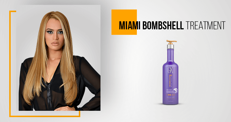 GKhair Professional Products New Formulations - Miami Bombshell Treatment