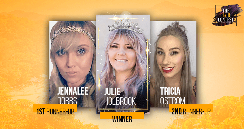 Winners of The Hair Contest 2019