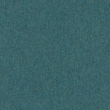 aqua marine colored wool fabric by Arc-Com Hush, color Caribbean
