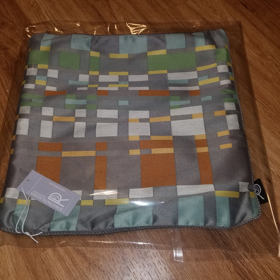 Decurban Frogger Geometric Pillow Cover Bagged