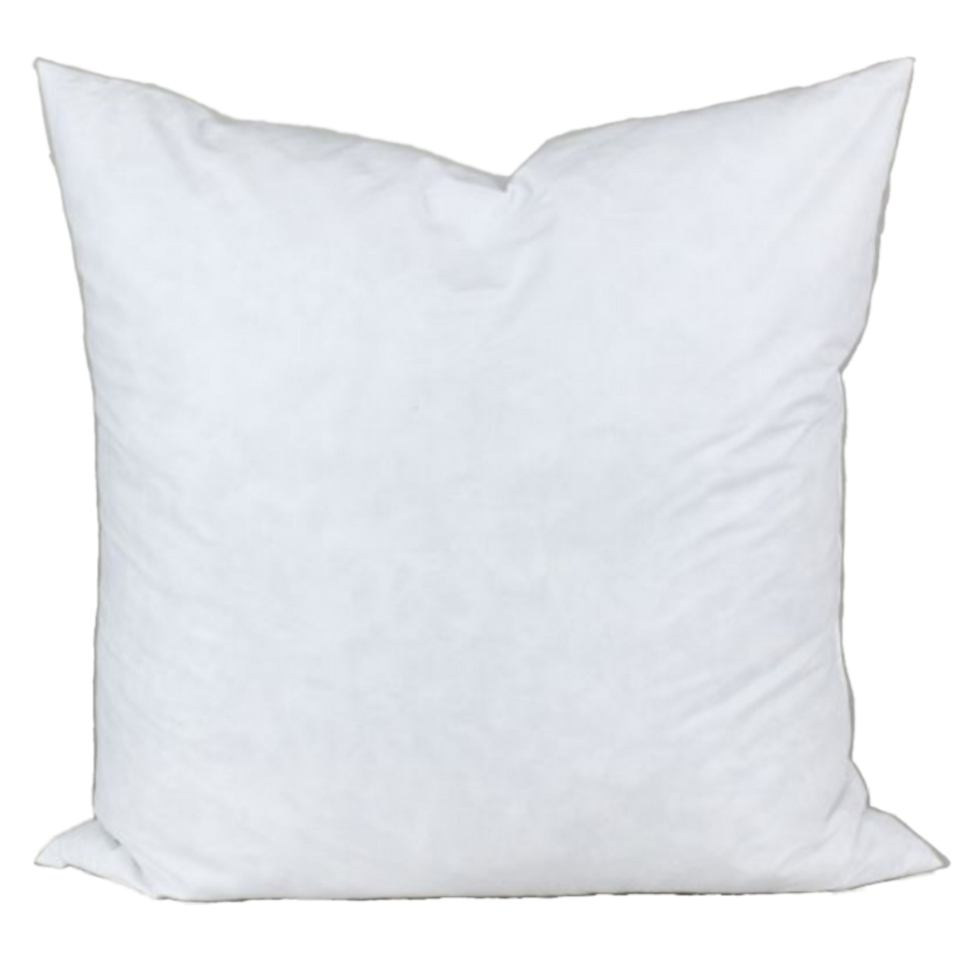 Square Knife Edge Premium Duck Down Pillow Insert