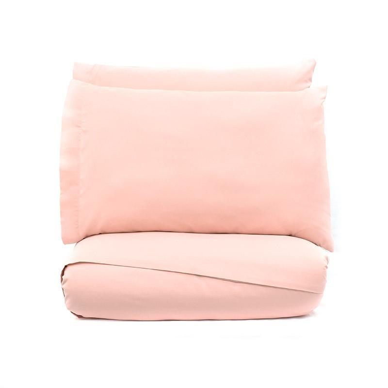 decurban home decor simple soft sheet set in pink