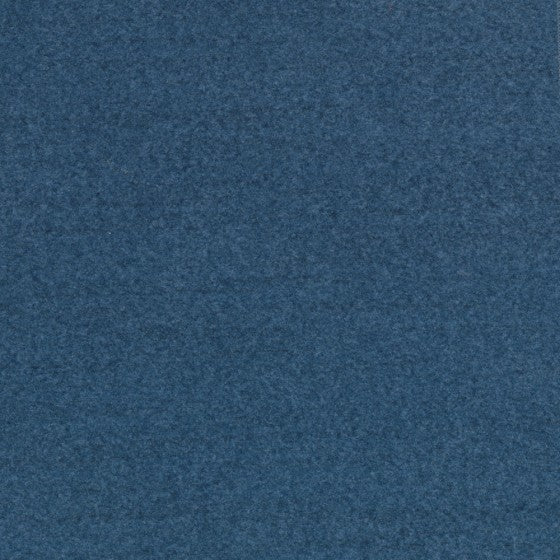 medium blue velour fabric by Designtex Delaine, color Indigo