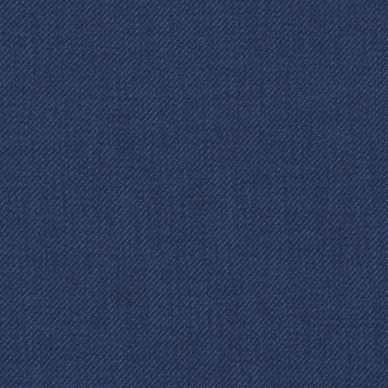 solid classic blue denim like fabric by Designtex Gamut, color Navy