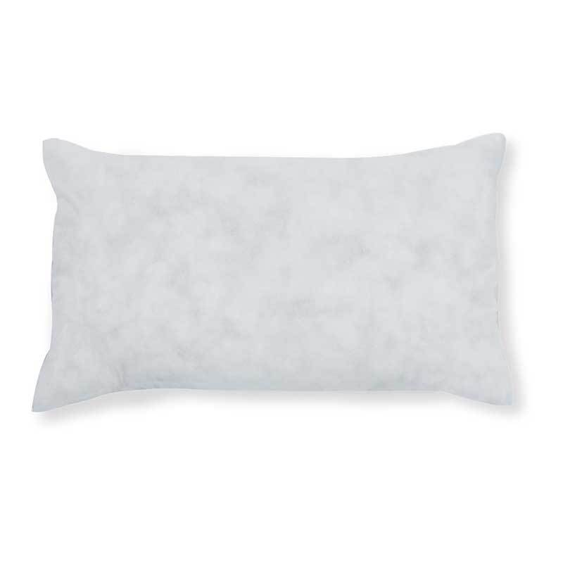 "20""W x 12""H basic rectangle polyester pillow insert"
