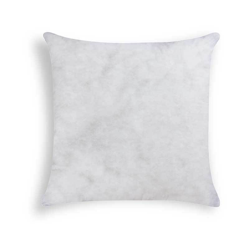 "20""W x 20""H basic square polyester pillow insert"
