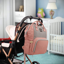 Load image into Gallery viewer, Two Tone Diaper Bag