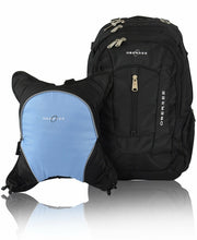 Load image into Gallery viewer, Diaper Bag Backpack | Detachable Baby Bottle Cooler |