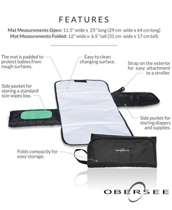 Compact Changing Kit | Changing Pad | easy to clean