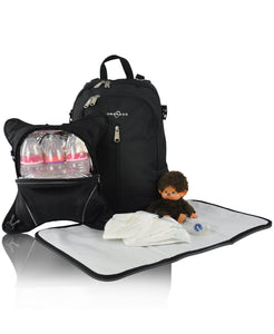 Diaperbag Backpack | Detachable Bottle Cooler | Large Size