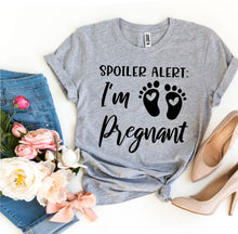 Load image into Gallery viewer, Spoiler Alert I'm Pregnant T-shirt