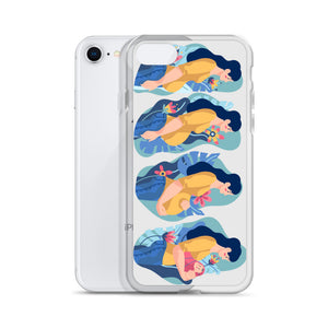 Pregnancy Stages iPhone Case