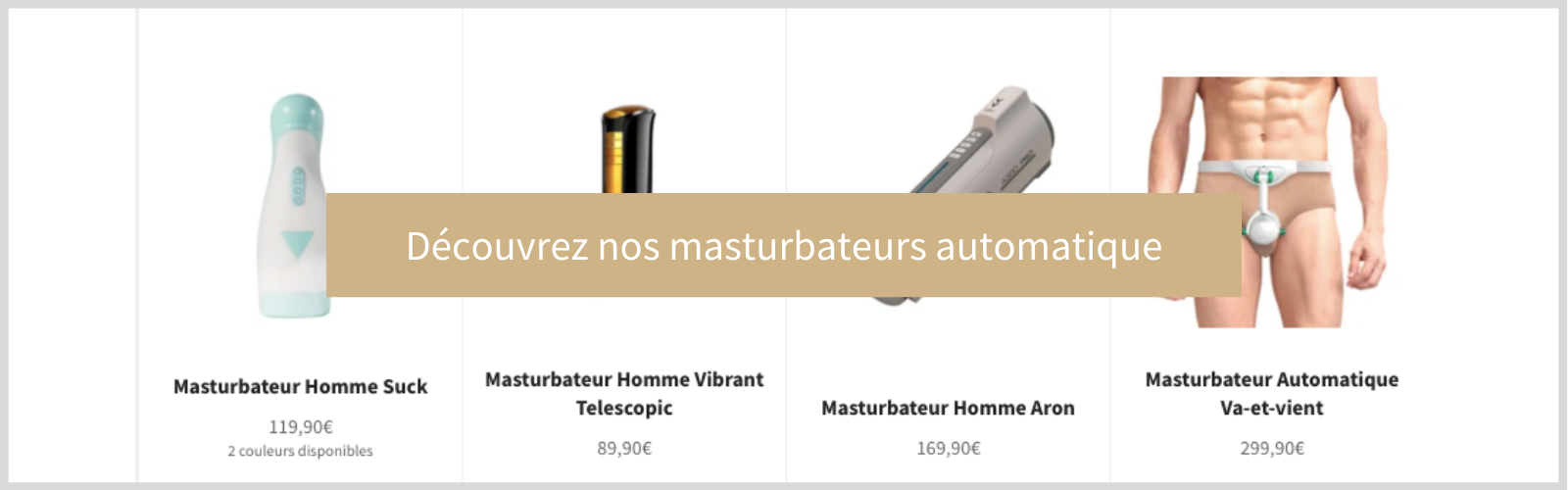 masturbateur masculin vaginette automatique