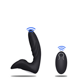 stimulateur prostatique him - stimulation point p - vibration - silicone - waterproof