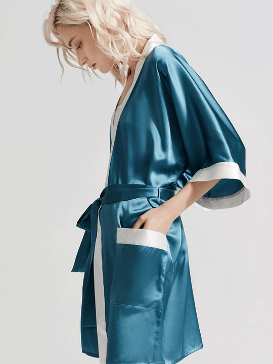 Luxury Coco Collection Silk Robe