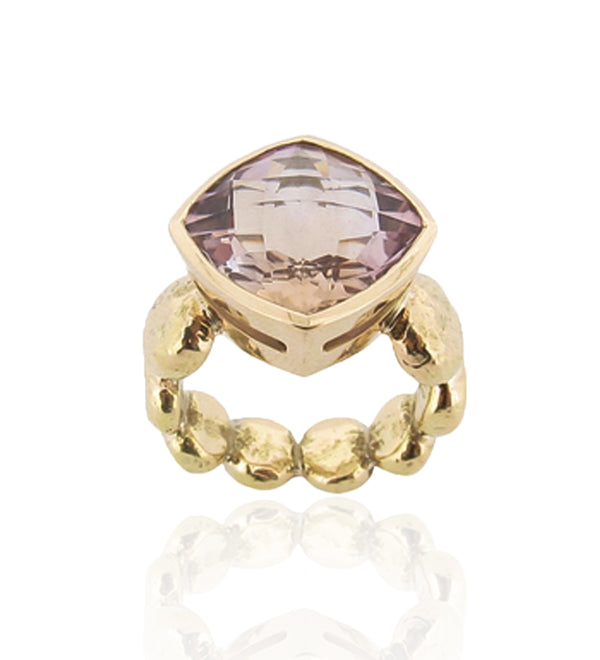 Adara Cocktail Ring - Ametrine - 9ct Gold
