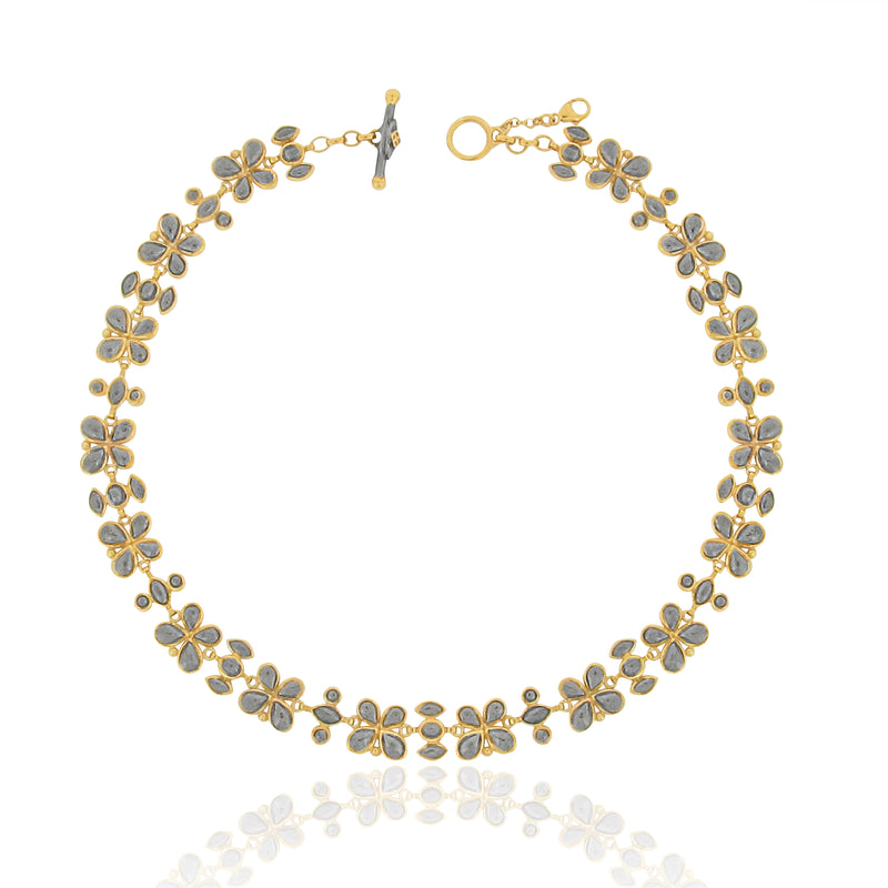 Calista Charm Necklace - Black
