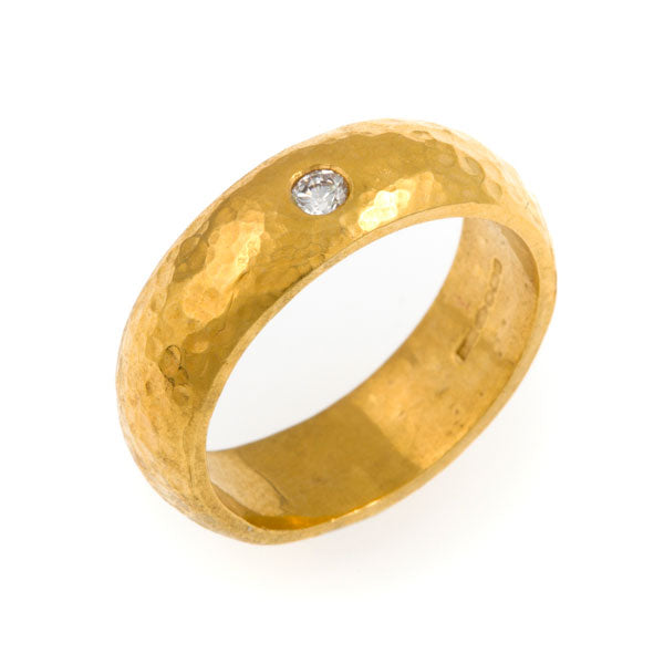 Dionne Diamond Ring - Gold