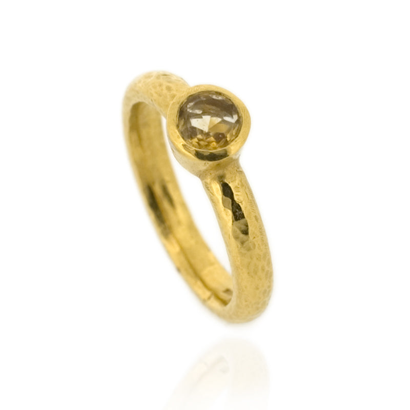 Odile Ring - Citrine - Gold