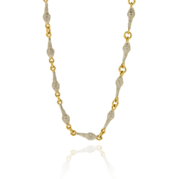 Zera Chain Necklace - Silver