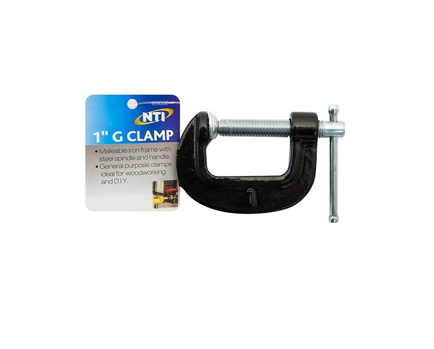Iron G Clamp - 1 Inch