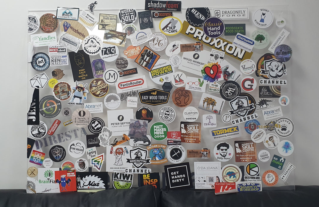 Makers Central 2019 Sticker Board (5040637542535)
