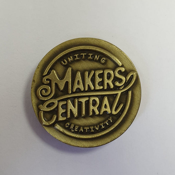 Makers Central 2018 Collectors Coin (5005861585031)