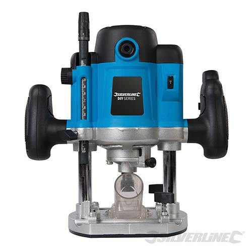 "1500w Plunge Router 1/2"" - Silverline - Makers Central"