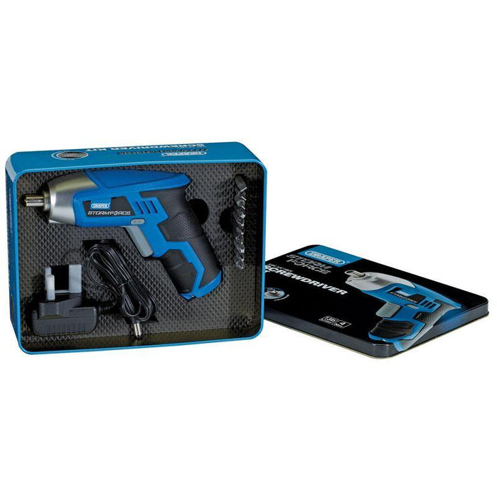 "DRAPER ELECTRIC SCREWDRIVER KIT - 3.6V 1/4"" - Makers Central"