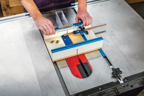 Table Saw Small Parts Sled