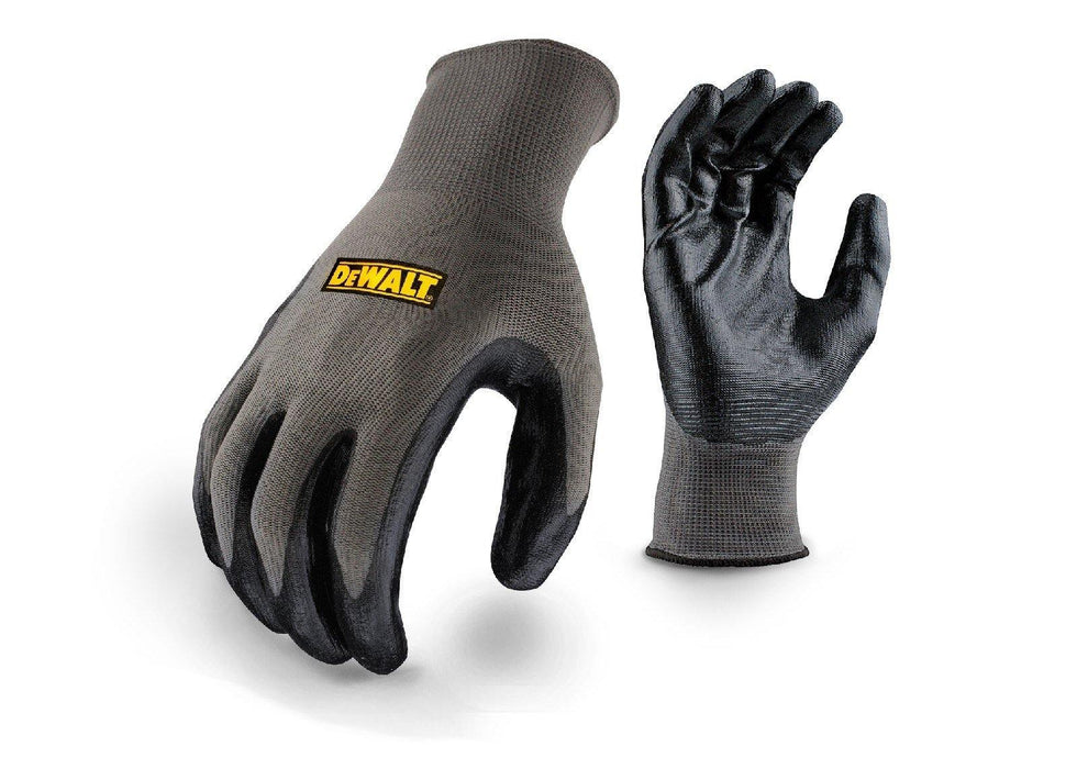 DeWALT Nitrile Gripper Gloves - One Size