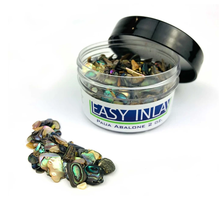 Easy Inlay Paua Abalone (Large/2 oz)