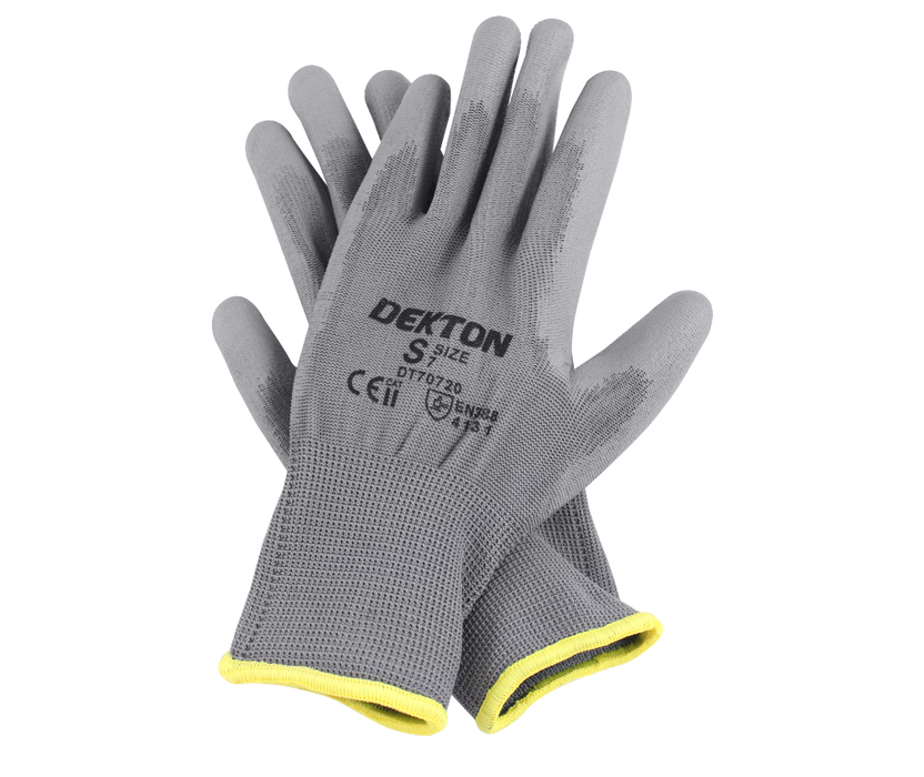 Snug Fit Working Gloves - Grey