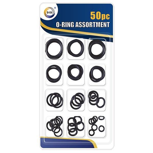 DID O Rubber Rings Assortment (50 Pieces)