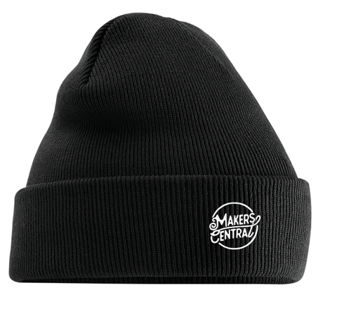 Makers Central Cuffed Beanie