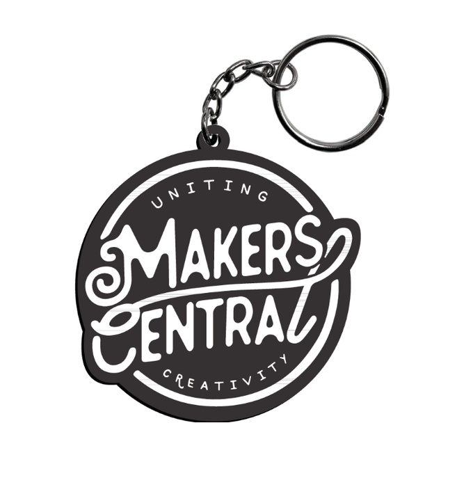 Makers Central Keyrings (5040691118215)