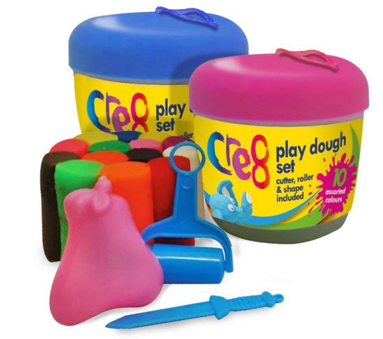 Apple Shaped Play Dough Set 18 Pieces - Makers Central