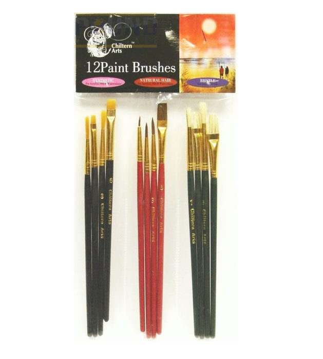 Chiltern Arts Artist Brushes 10 Pack - Makers Central