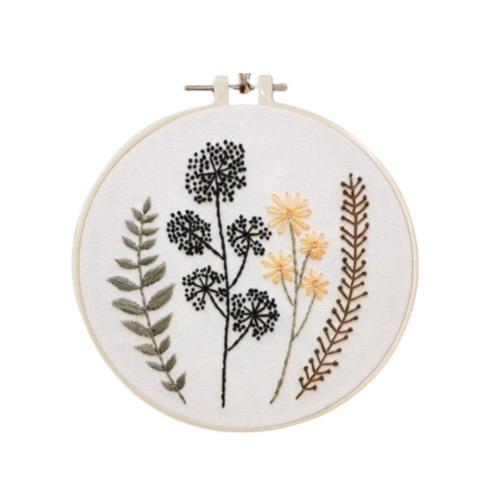 Embroidery Kit - Wild Flowers #5