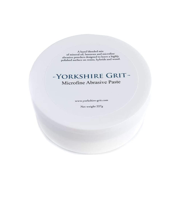 Yorkshire Grit Microfine - Woodturners Abrasive Paste