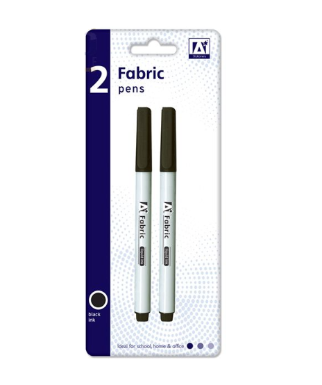 Fabric Pens Black 2 Pack - Makers Central