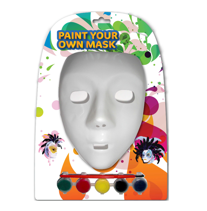 Paint Your Own Mask Set - Makers Central