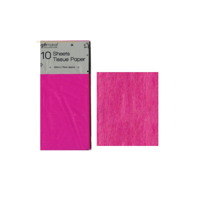Giftmaker Tissue Paper Hot Pink 10 Sheets