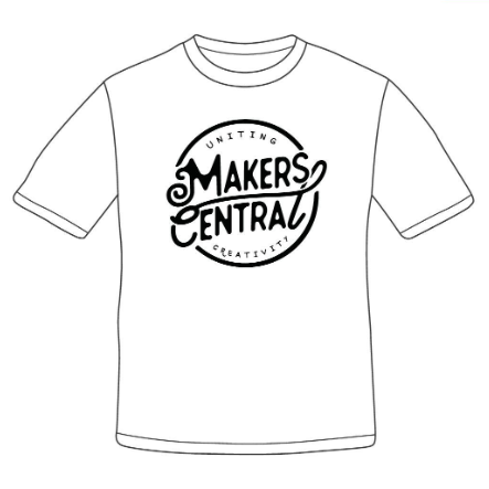 *ONLINE EXCLUSIVE* - Makers Central  - Large Logo (5000122925191)