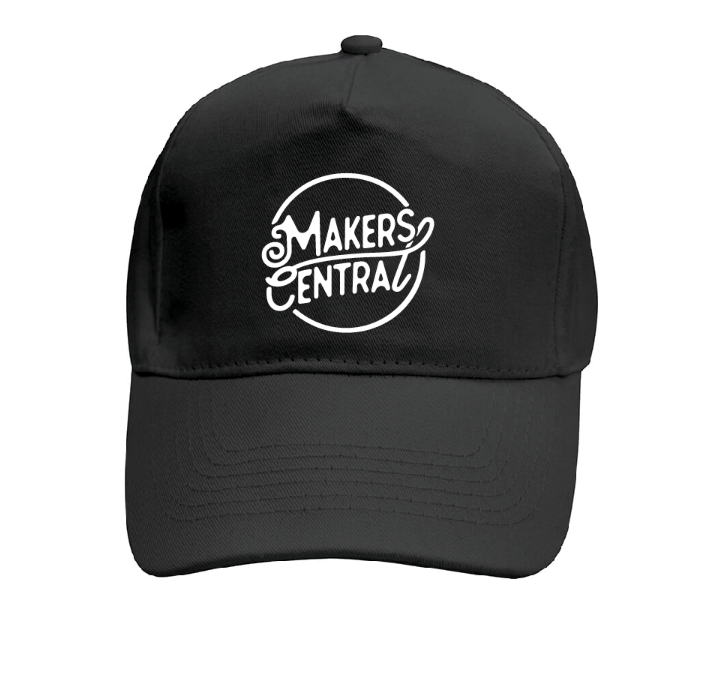 Makers Central Baseball Cap (5040738140295)