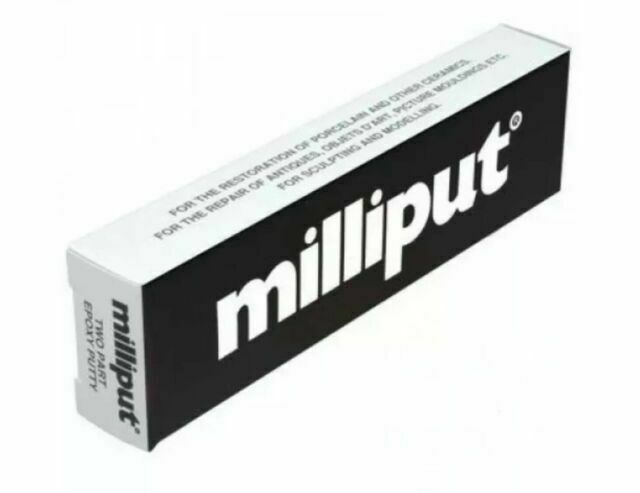 Milliput - Black - 2 Part Epoxy Resin Putty (5204040777863)
