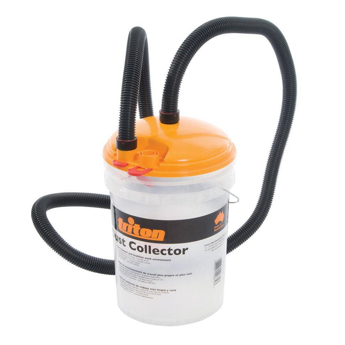 Dust Collection Bucket 23Ltr - Triton - Makers Central