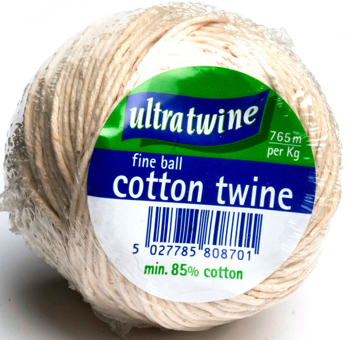 Fine Ball Cotton Twine (Small) - Makers Central