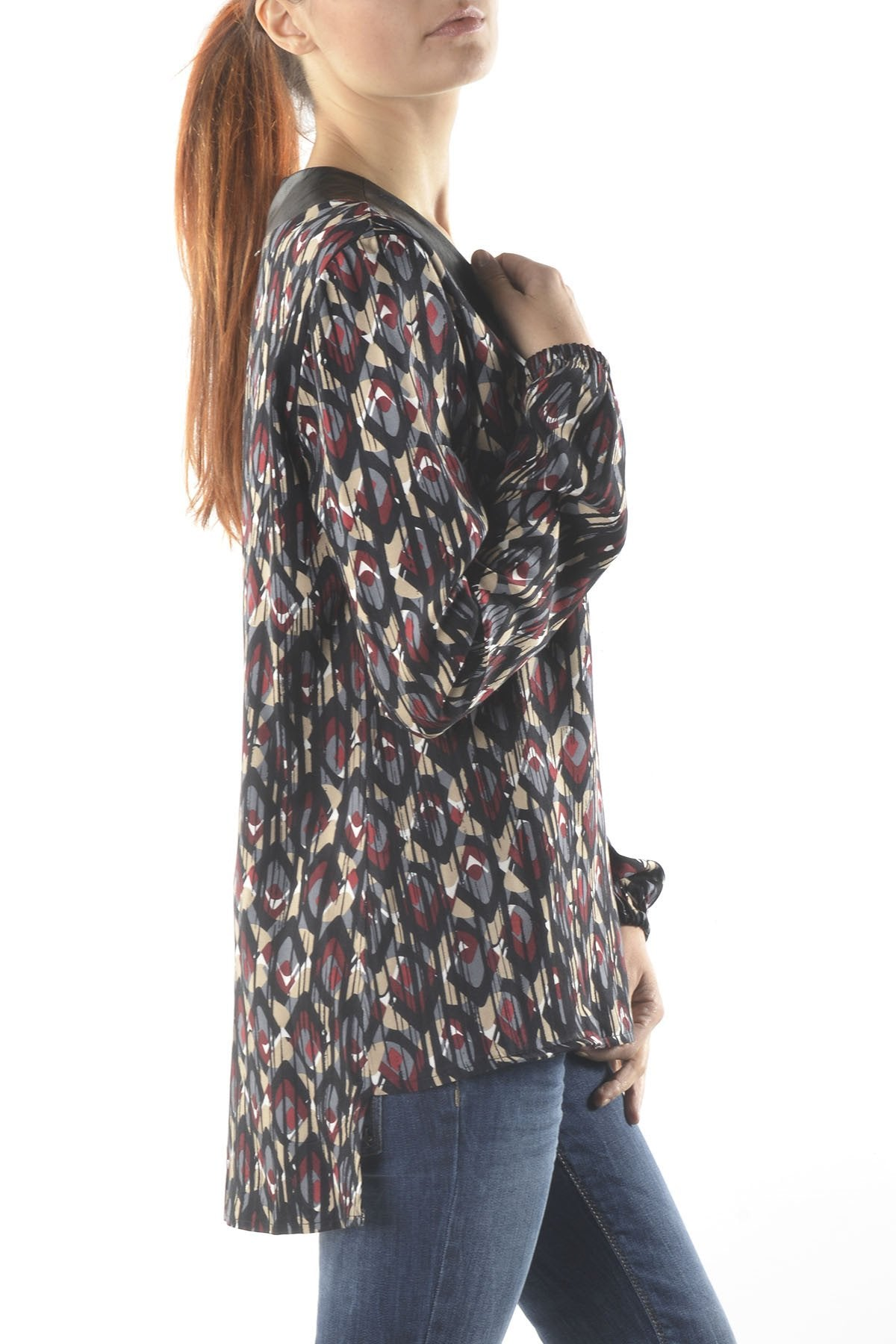 Sexy Woman Femme Blouse