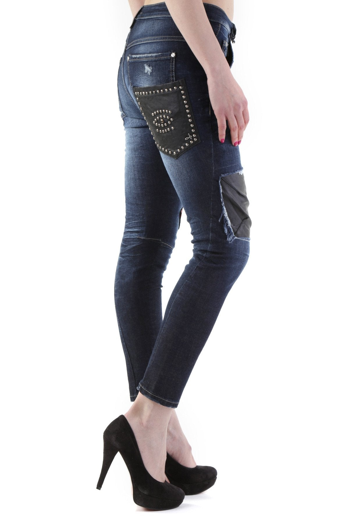 Sexy Woman Femme Jeans